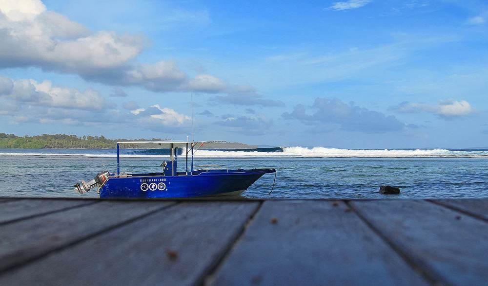 Telo island lodge powerboats