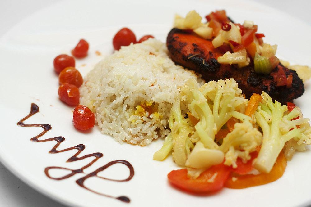high quality fresh cuisine