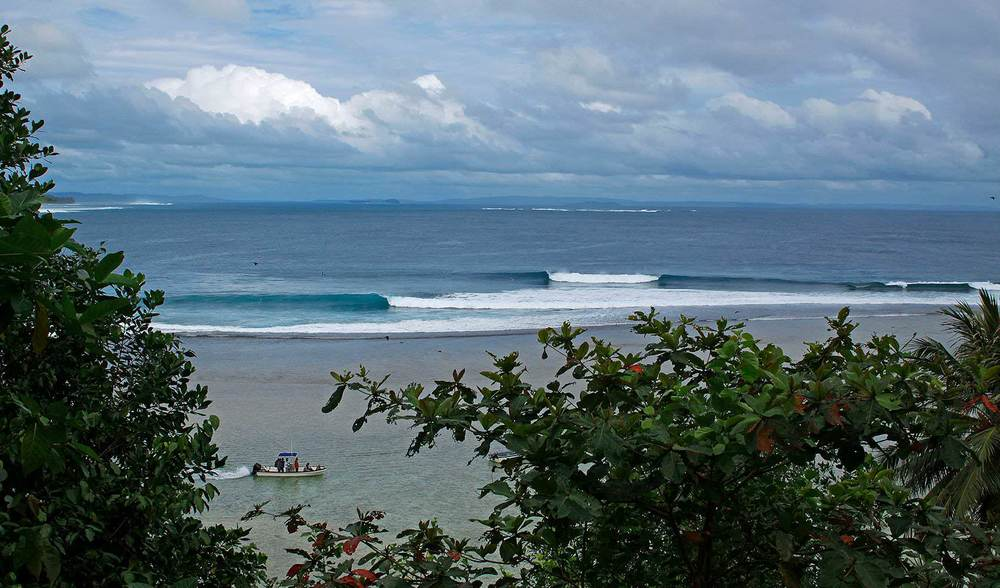 Beautiful indonesia surfing