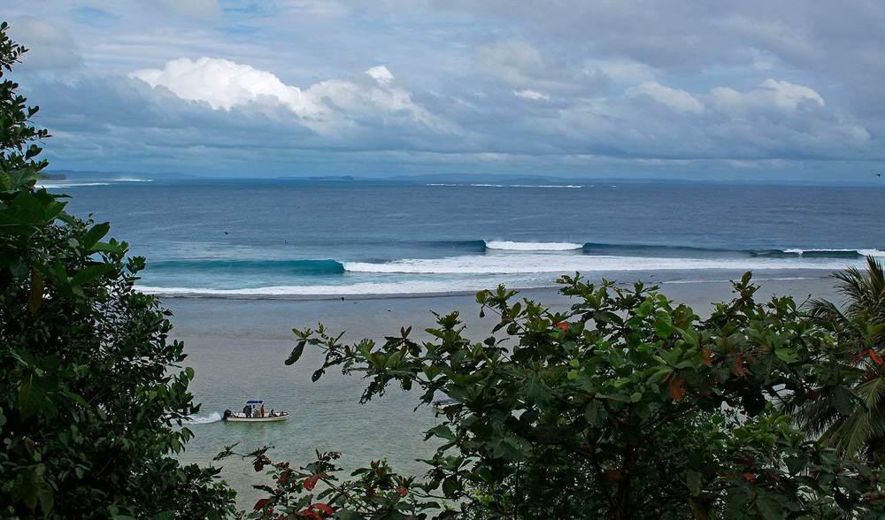 Beautiful indonesia surfing