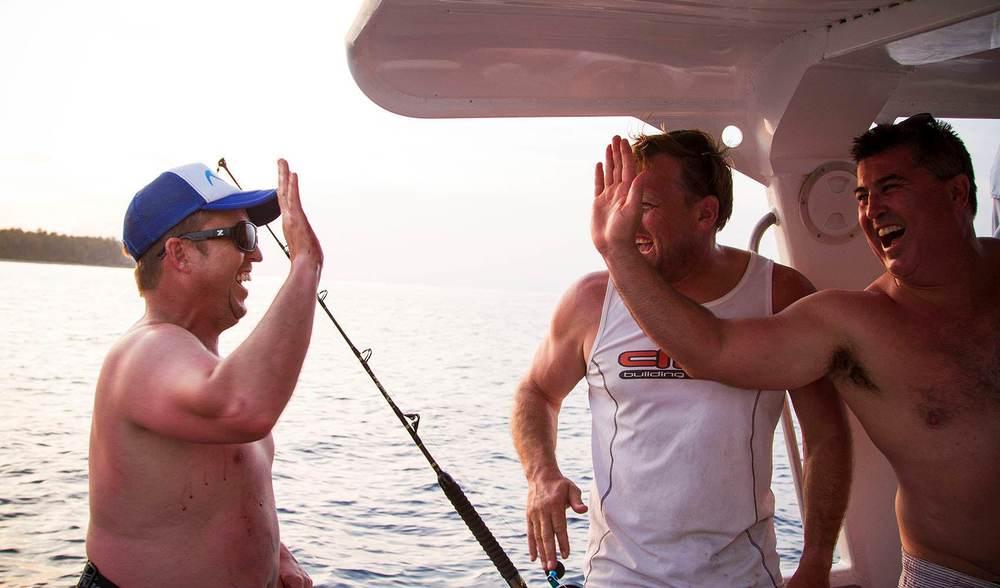 Fishing trip stoke mentawais