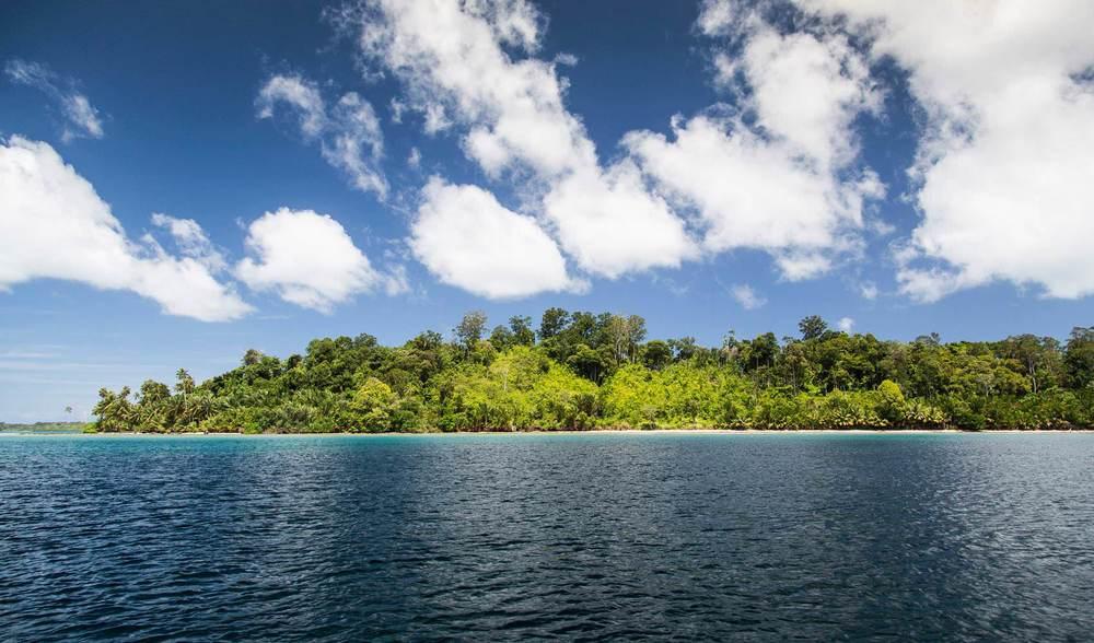 Private indonesia island