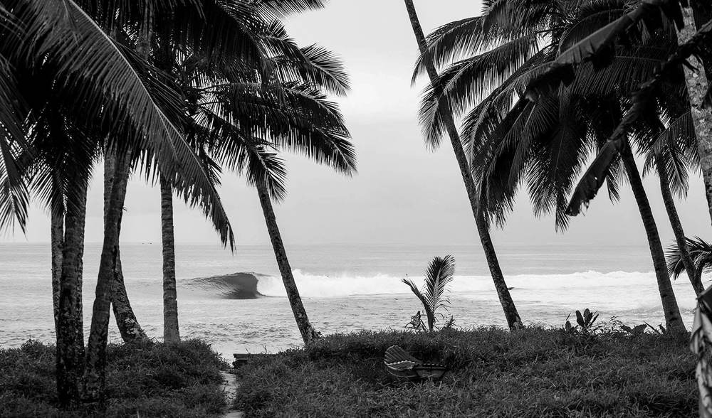 Telo island lodge surf history