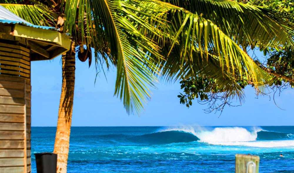 Surf vacation western samoa south pacific