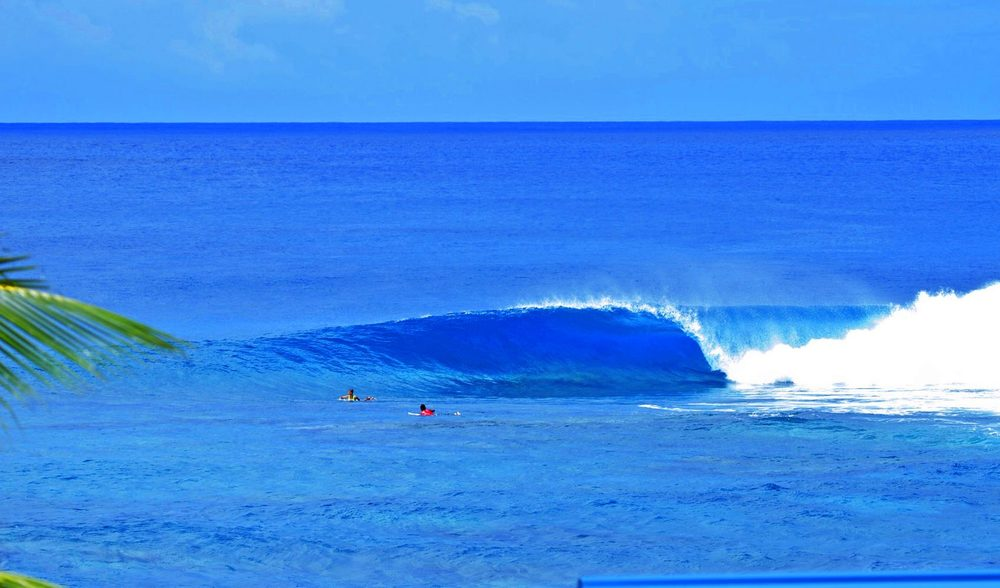 perfect empty wave mind surf aganoa right samoa