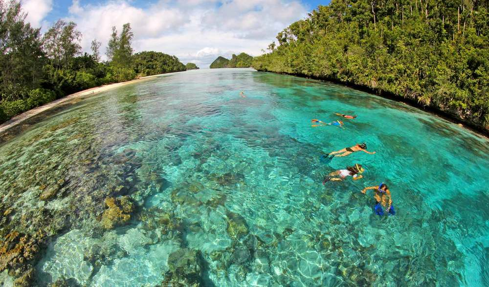crystal clear indonesian waters