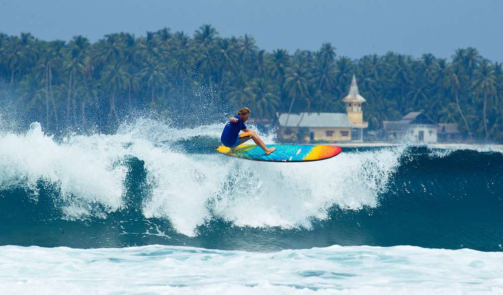 Surf School Instruction Indonesia