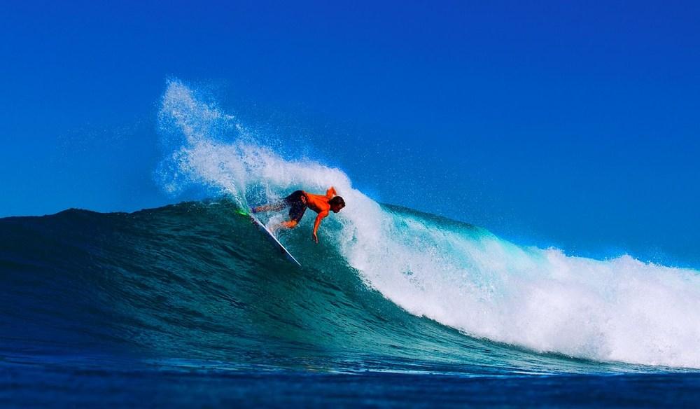 PASTORPOINT Samoa surfing short board