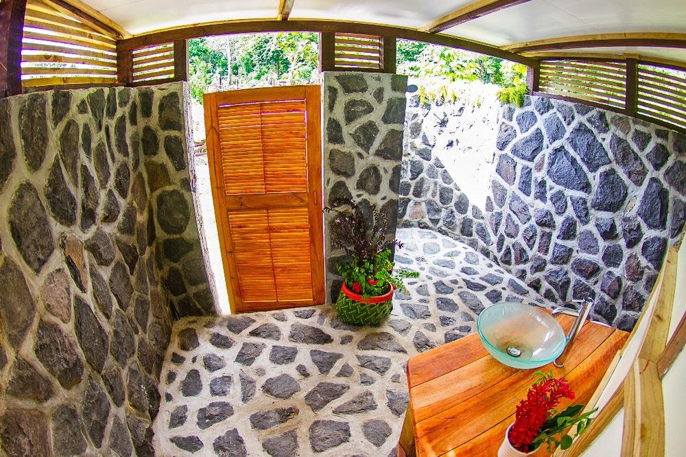 Private Bathroom Accommodations Samoa Savaii Aganoa