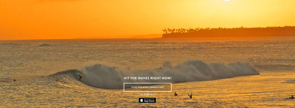 Aganoa Lodge Samoa    EXPLORE    SURF PEGASUS LODGES APP