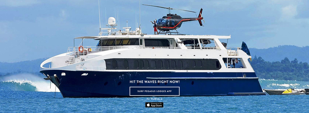 Ratu Motu Yacht    EXPLORE    SURF PEGASUS LODGES APP