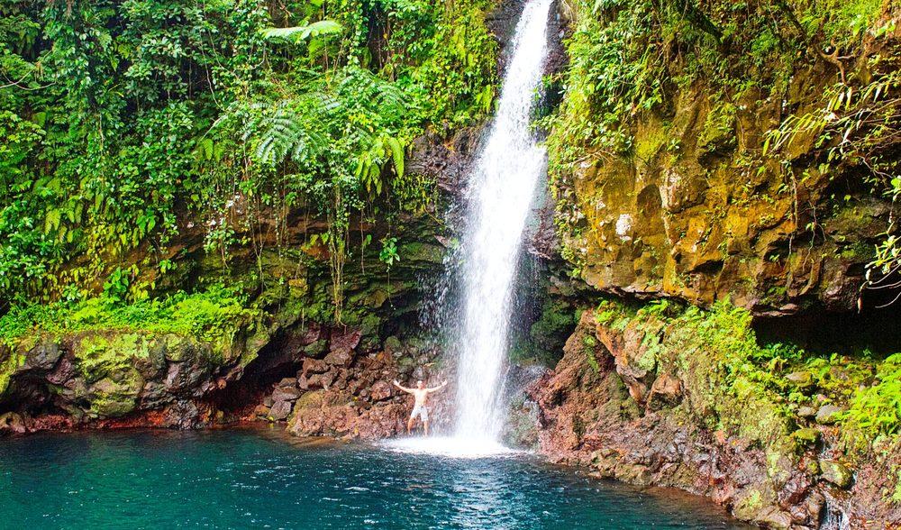 Aganoa Lodge Samoa Waterfall