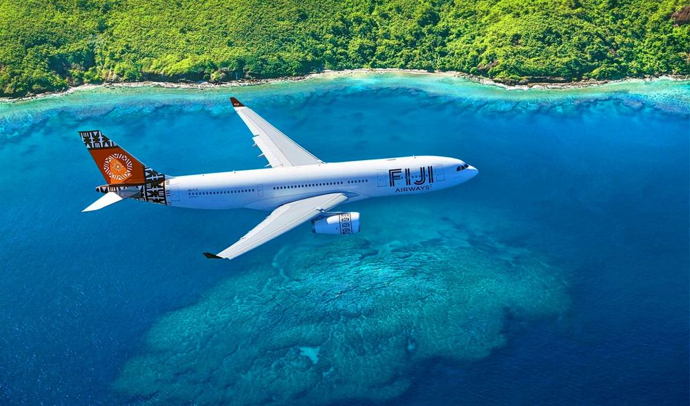 Fiji Air to Aganoa Lodge Samoa