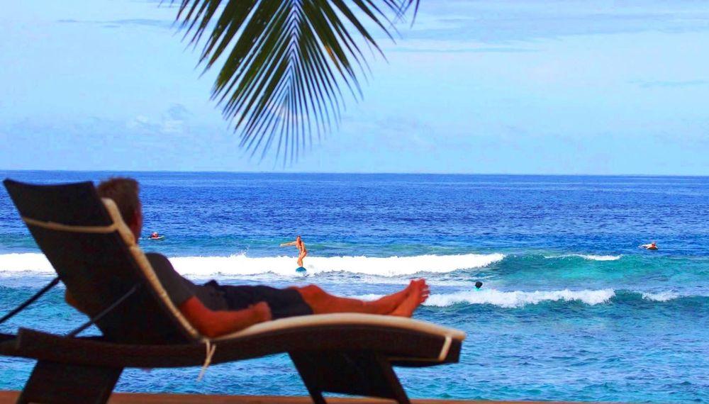 Aganoa Lodge Samoa Family Surf