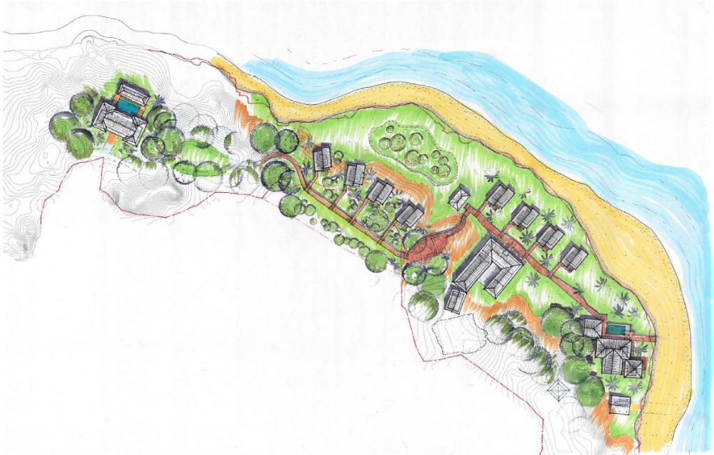 Pegasus Lodges and Resorts Pinnacles on Telo Lodge Plan