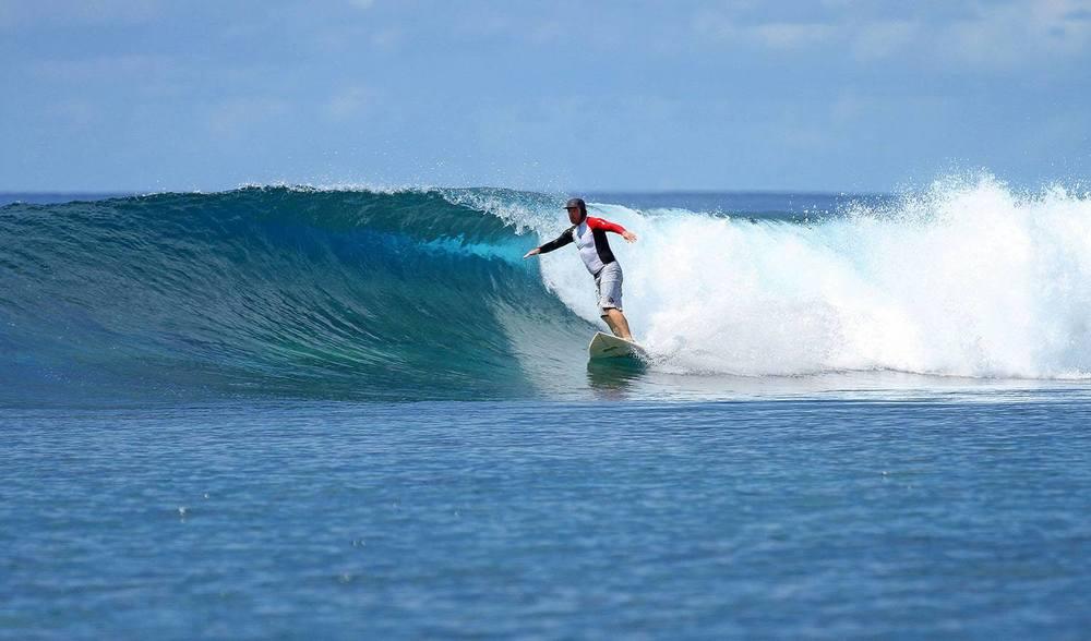 Bubbles Surf Spot Pinnacles on Telo by Pegasus Lodges