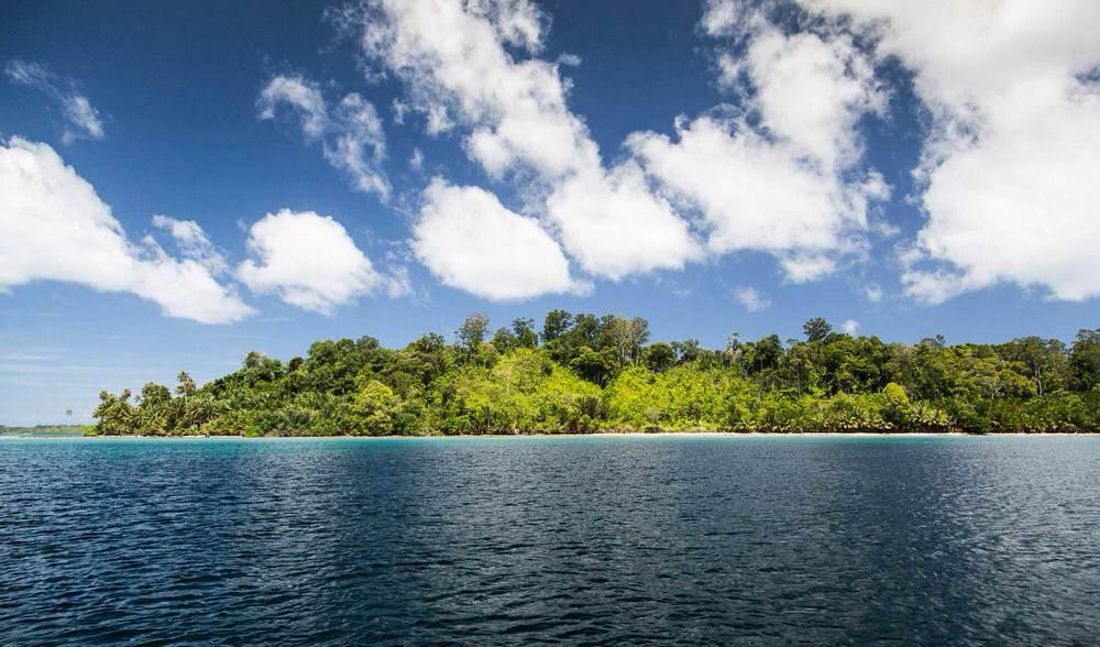 indonesia private island surf trip