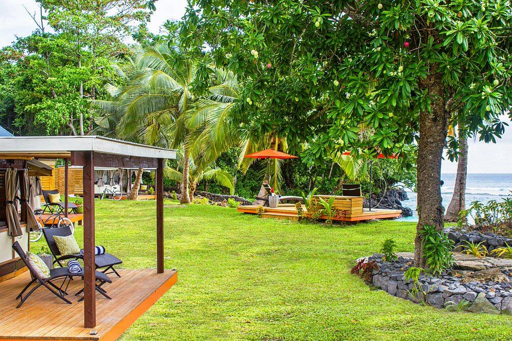 Aganoa Lodge Samoa Hotel Exterior