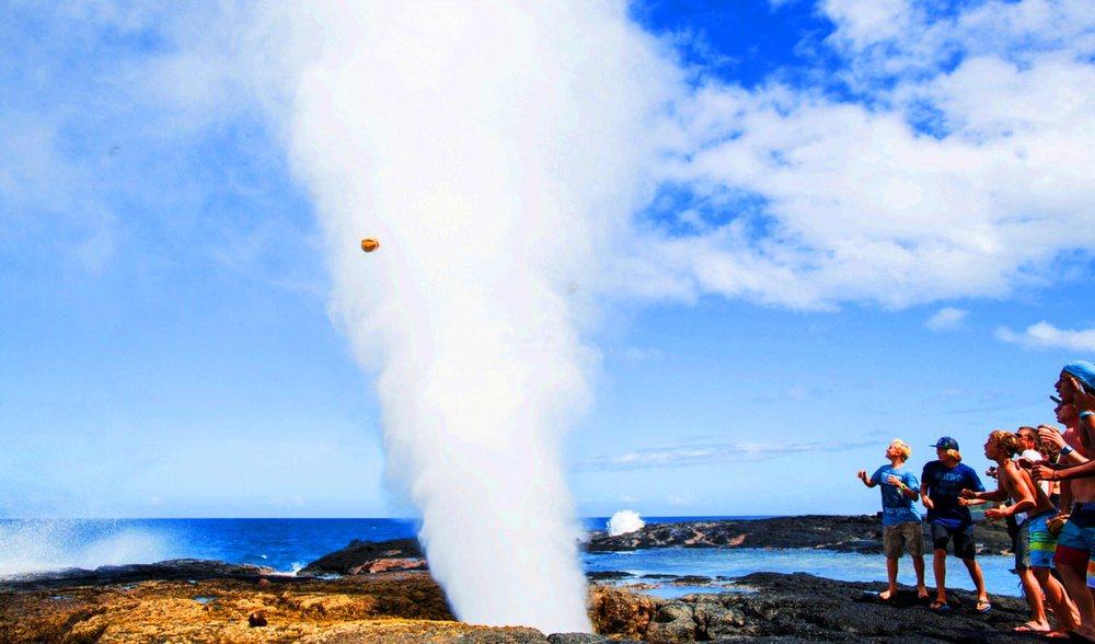 Savai'i Samoa Blow Hole Excursion