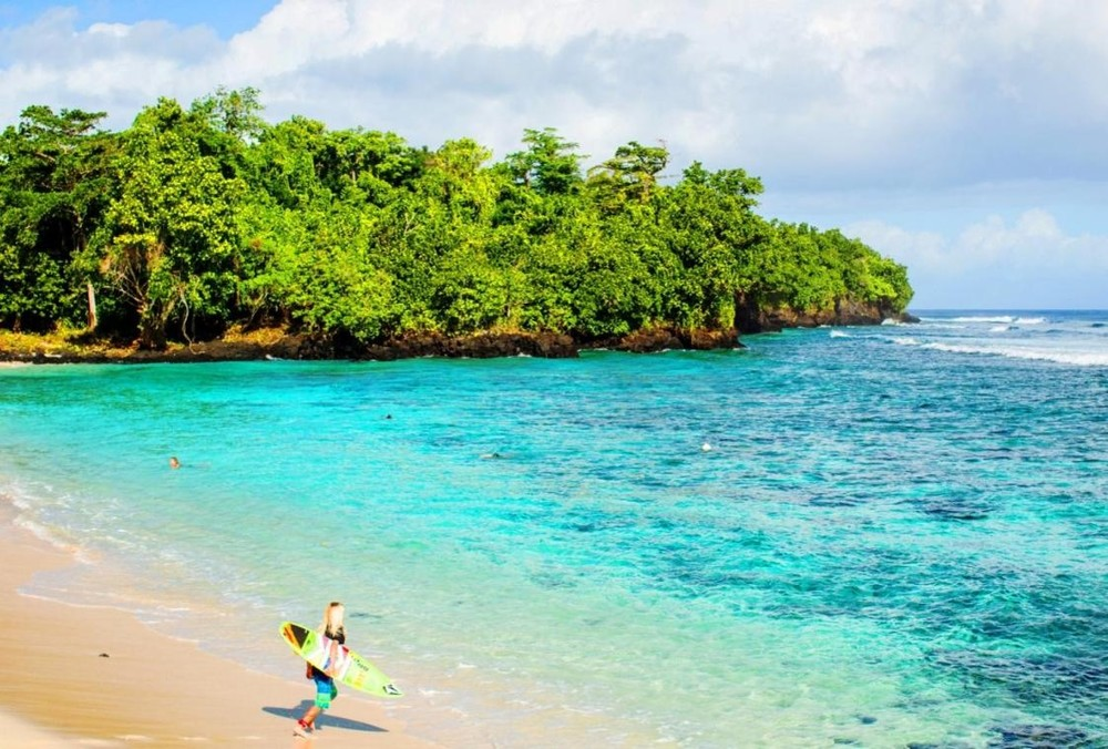 Forbes private beach holiday samoa