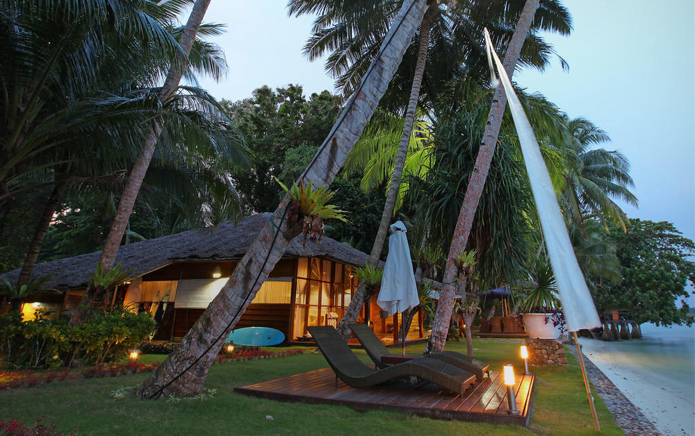 Telo island lodge luxury indonesia