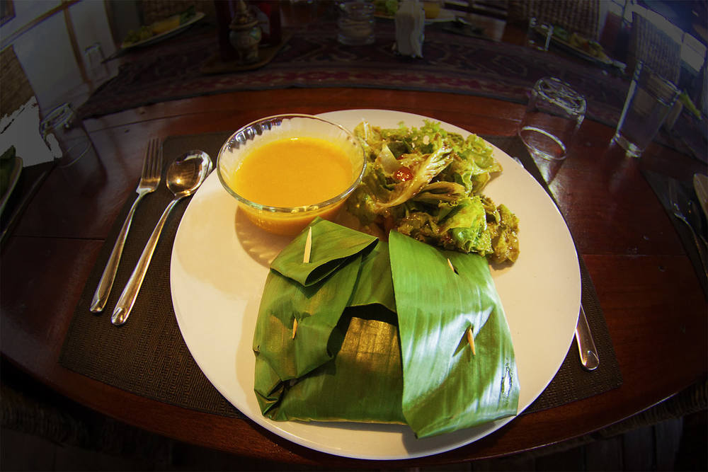 Local Indonesian Dishes Prepared by Chef