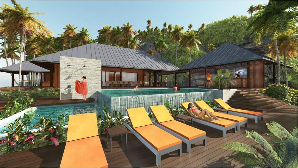 Pinnacles on telo infinity pool pegasus lodges and resorts