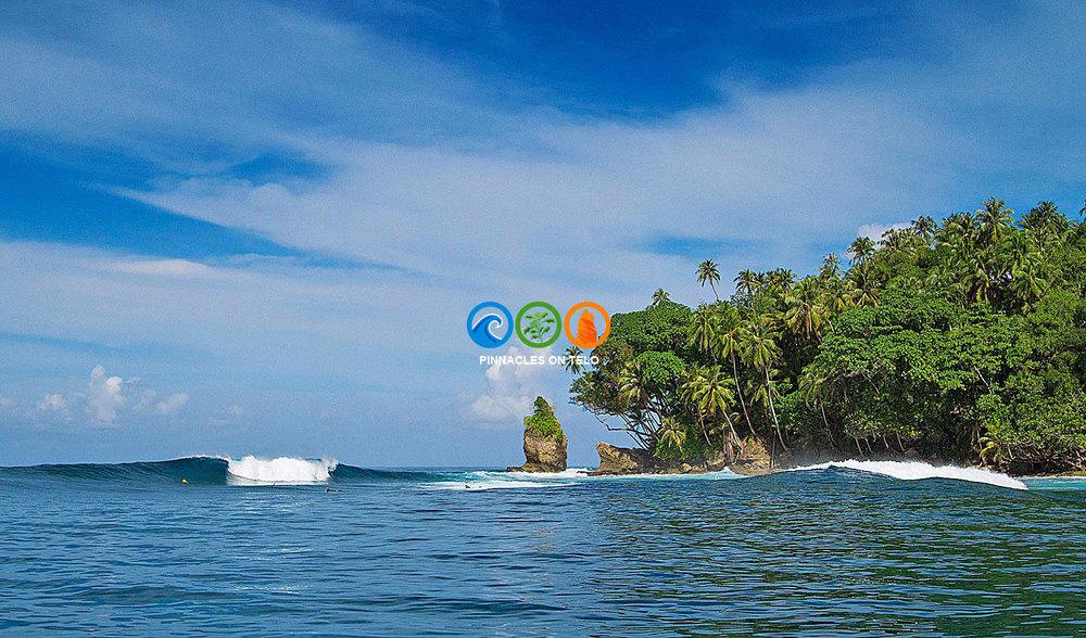 Pinnacles on telo ultimate indonesia luxury surf trip
