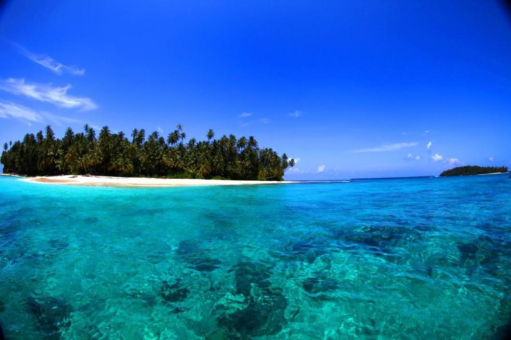 Pinnacles on Telo Indonesia Luxury Surf Trip