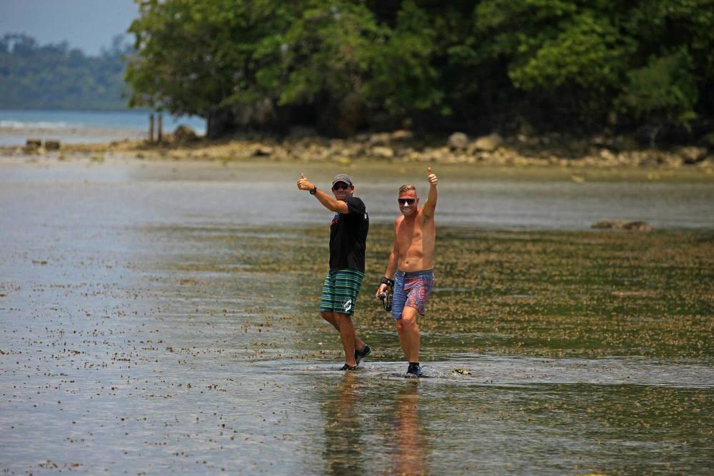 Pinnacles on telo surf trip indonesia pegasus lodges