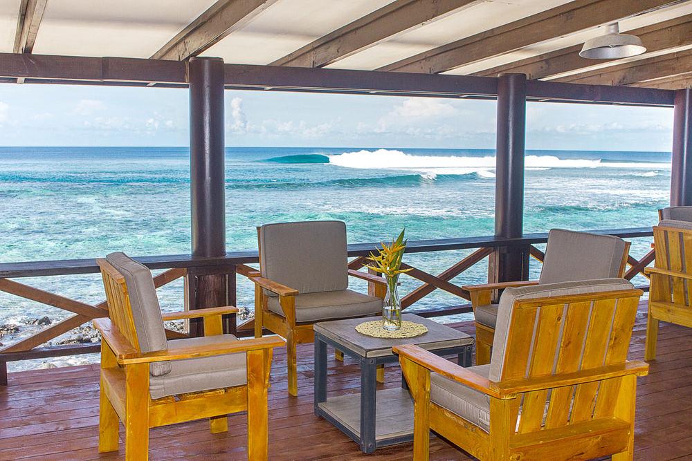 Aganoa Lodge Samoa Restaurant and Bar Luxury Hotel