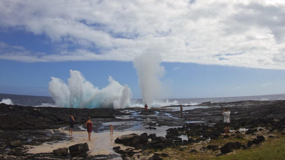 Eco tours blow hole samoa savai'i