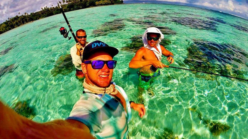 Fishing Trips in Samoa at Aganoa Lodge