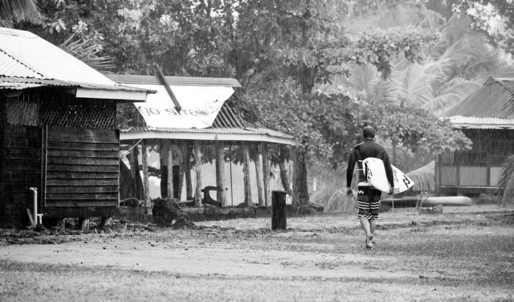 Aganoa lodge Samoa surf camp beginnings