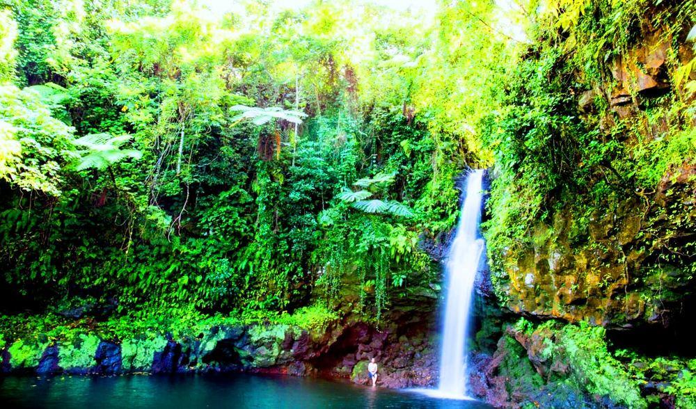 Aganoa Lodge Samoa Destination Water Fall.JPG