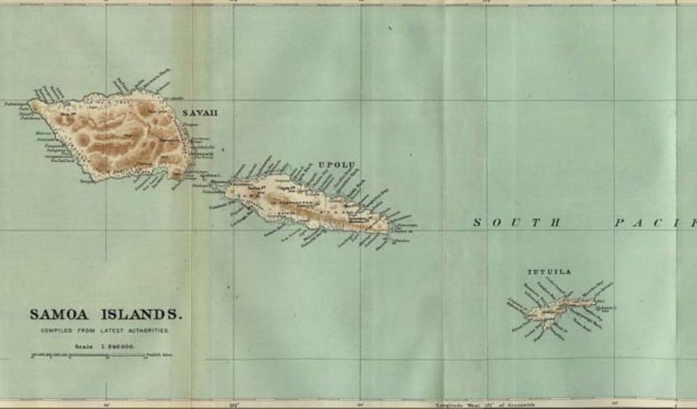 South Pacific Islands Savai'i Samoa Aganoa Surf