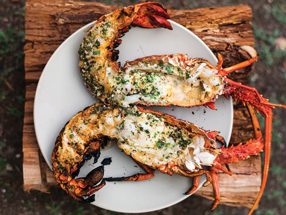 Fanning-Island-Resort Fresh Lobster at Fanning Island Resort, Tabuaeran, Kiribati
