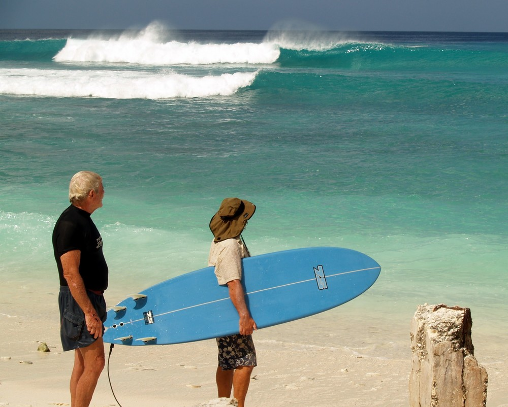 Fanning-Island-Resort surf the best user friendly waves