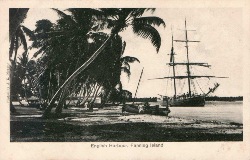 Fanning-Island-Resort history of the private island