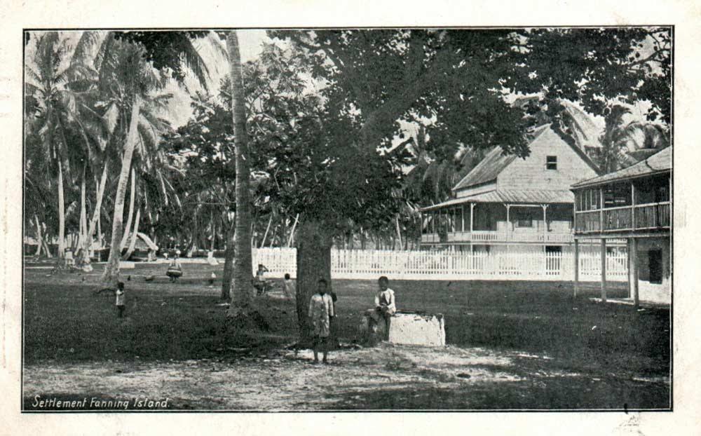 Fanning-Island-Resort plantation in 1905 history