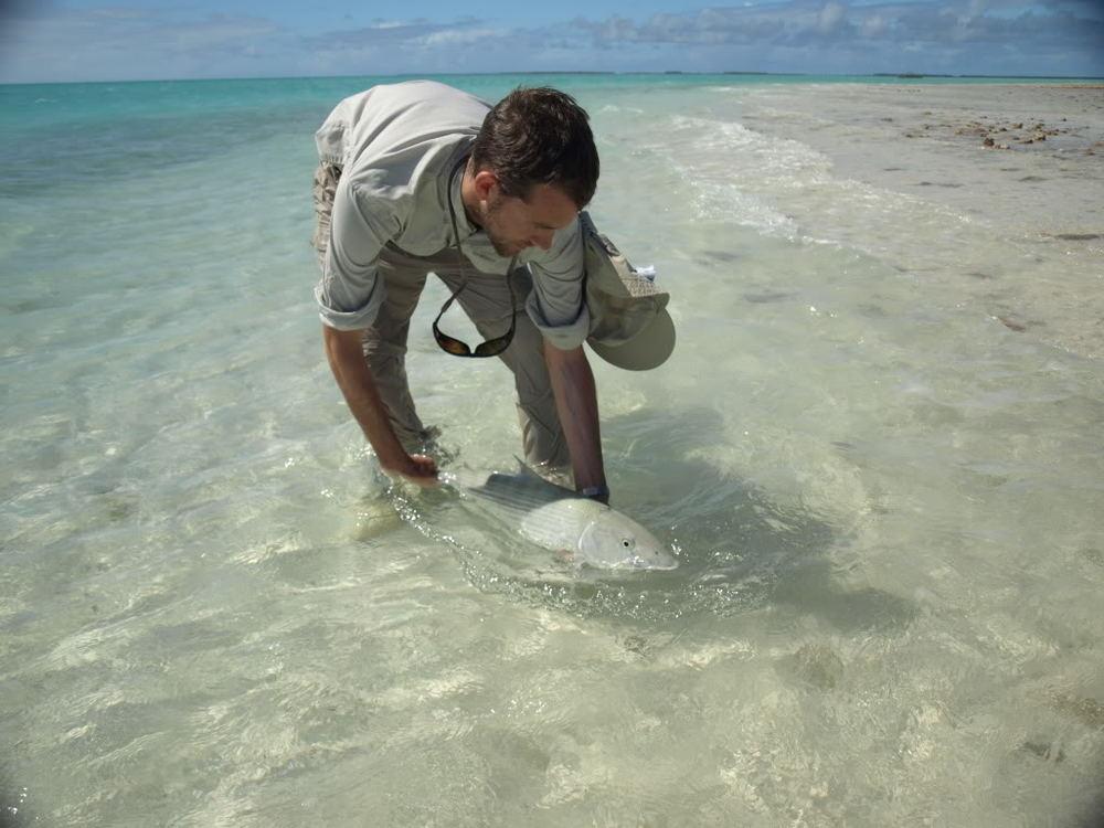 trophy Fanning-Island-Resort-bone fish at Fanning Island Resort