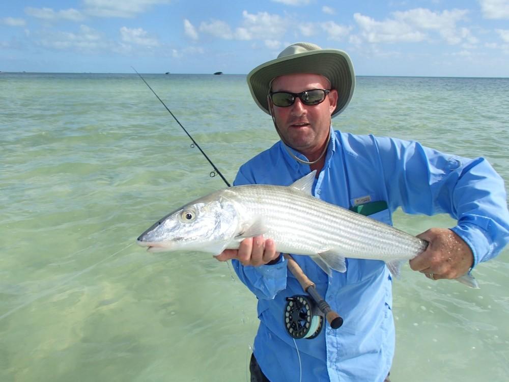 fly fish forFanning-Island-Resort- bone fish at Fanning Island Resort