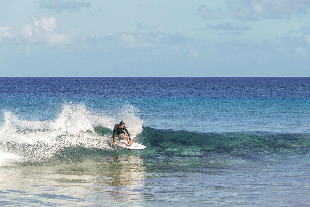 Easy, fun wave. Fanning Island, Pegasus Lodges.jpg