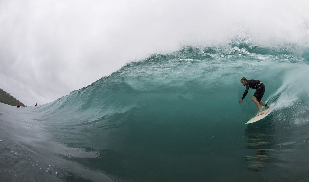 Bend the lip perspective.