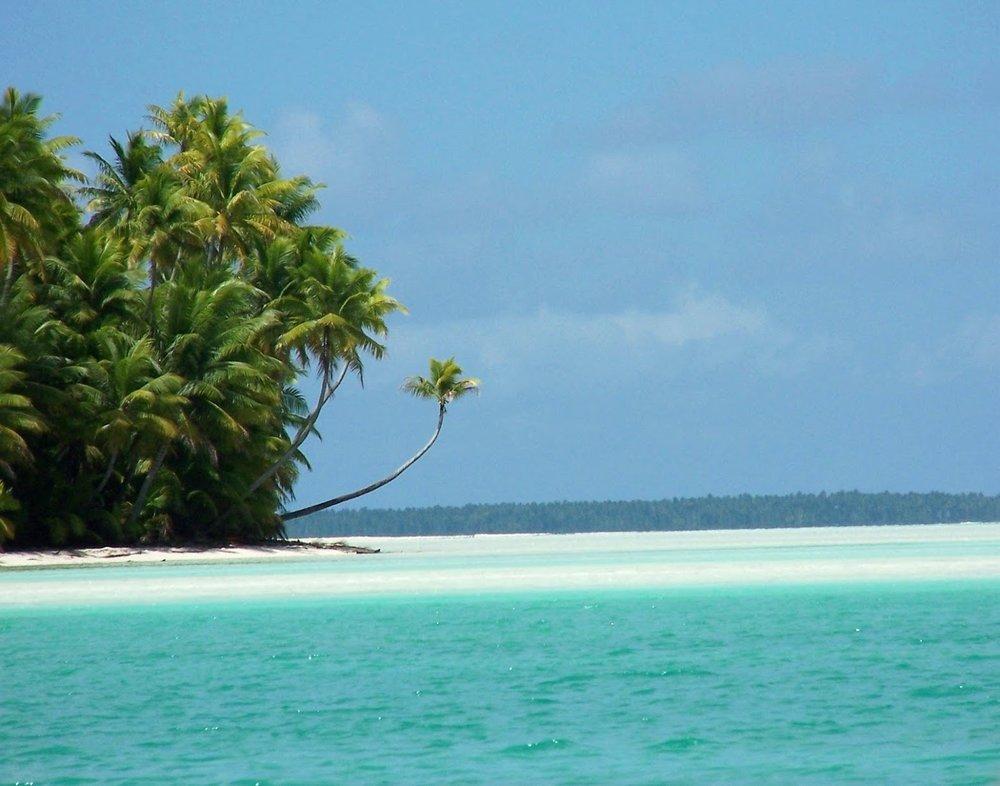 Fanning Island Oasis.