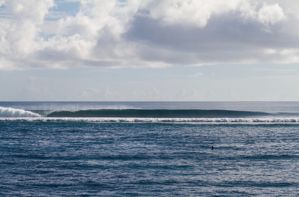 Clean lefts to start the day.
