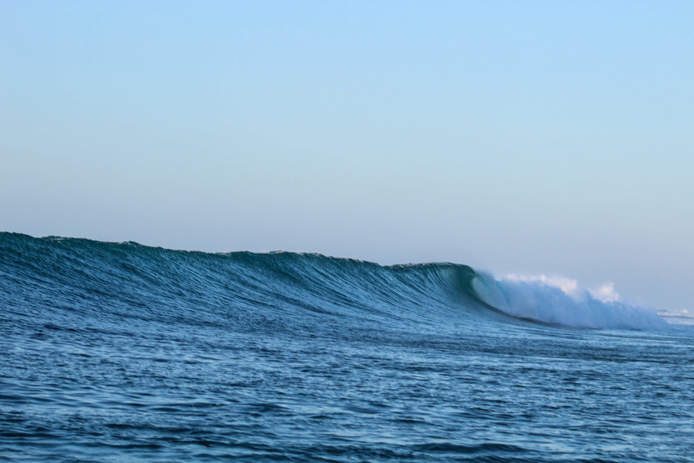 One of the easiest waves you'll ever surf when the conditions are like this!
