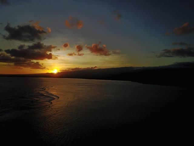 Simmering Samoan Sunset.
