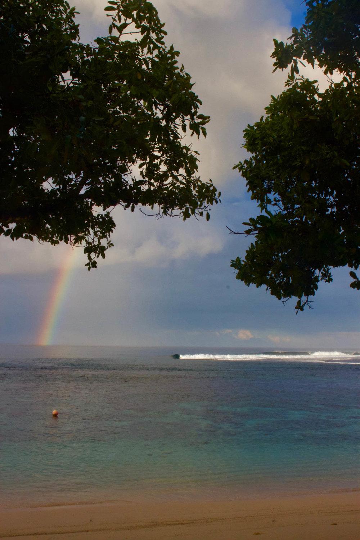 Rainbow days.