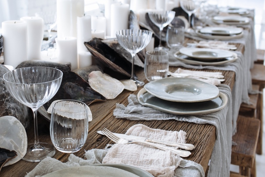 rustic beach tablesacpe